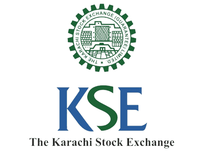 The Karachi stock exchange